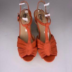 Candie's Sandals Wedge Espadrilles Platform